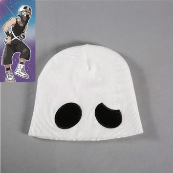 Pokemon Sun and Moon Team Skull Grunt hat cap anime cosplay Wool cap Beanie