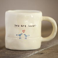 You  Are  Loved  Live  Simply  Mug  From  Natural  Life