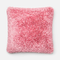 Loloi Pink Decorative Throw Pillow (P0045)