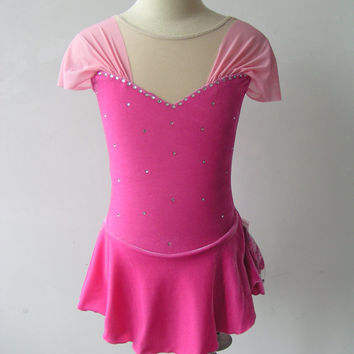Custom Figure Skating Competition Dress -- 'Princess'