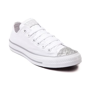 Women's Converse All Star Lo Glitter Toe Sneaker