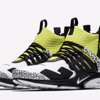 Nike Air Presto Mid Acronym - Dynamic Yellow