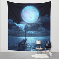 Set Adrift Wall Tapestry by Soaring Anchor Designs | Society6