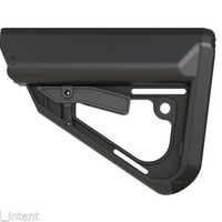 Exos Defense TI-7 Mil-Spec Sliding Buttstock (Black)