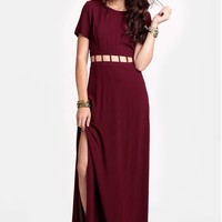 Your Heart's Desire Cutout Maxi Dress