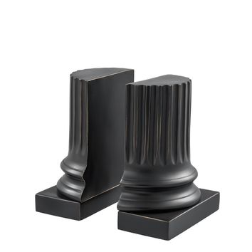 Bronze Bookends (set of 2) | Eichholtz Pillar