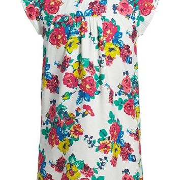 Girl's Tea Collection 'Mercado Rodriguez' Print Cotton Twill Dress,