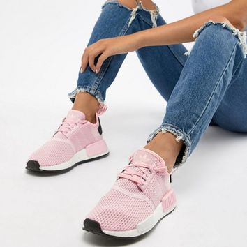 adidas Originals Nmd R1 Trainers In Pink at asos.com