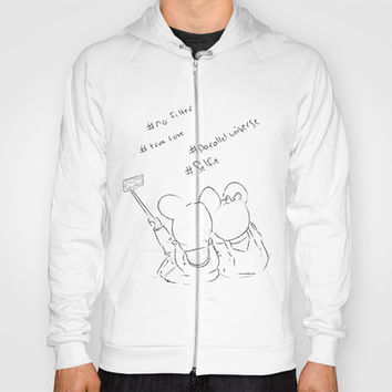 selfie in a parallel universe Hoody by Dubai icreative
