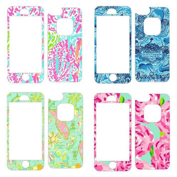 Lilly Pulitzer Print Skin for Lifeproof iPhone Case