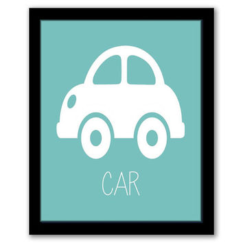Car Wall Art, Transportation, Vehicles, Toddler Decor, Nursery Wall Art, Turquoise Art, Kids Room, Boys Room, Wall Art, INSTANT DOWNLOAD