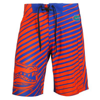 Florida Gators Official NCAA Stripes Boardshorts