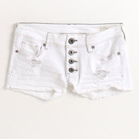 Bullhead Exposed Button White Shorts at PacSun.com