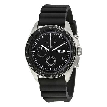 Fossil Sport 54 Black Dial Chronograph Mens Watch CH3024