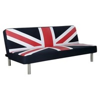 Studio Union Jack Sleeper Sofa - Navy/Red/White