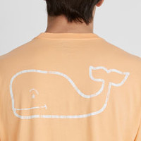 Vintage Whale Graphic Pocket T-Shirt