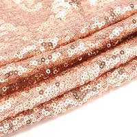 30x180cm Glitter Rose Gold Sequin Table Runner Tablecloth Wedding Decor Home Party Design Decorative Fabrics Crafts Upholstery