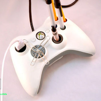 Upcycled XBOX 360 Controller Desk-Mate w/ USB Extension