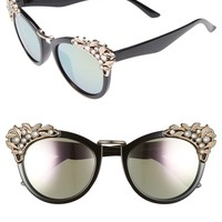 BP. Optical Illusion 56mm Embellished Cat Eye Sunglasses | Nordstrom