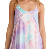 Pastel Tie Dye Dress    -    1 REMAINING!