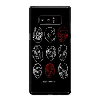 Poster For Twenty One Pilots Samsung Galaxy Note 8 Case