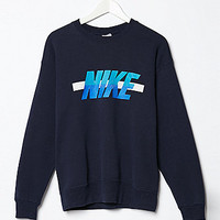 Retro Gold Vintage Nike Logo Crew Fleece Sweatshirt at PacSun.com