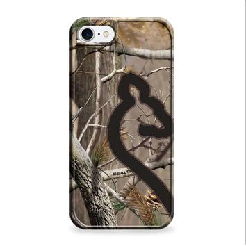 Love Browning Deer Camo Real Tree Couple 2 iPhone 7 | iPhone 7 Plus case