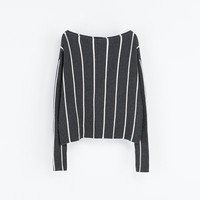 STRIPED SWEATER - Woman - New this week | ZARA United States