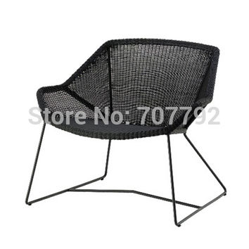 2017 New Style outdoor garden wicker rattan lounge chair