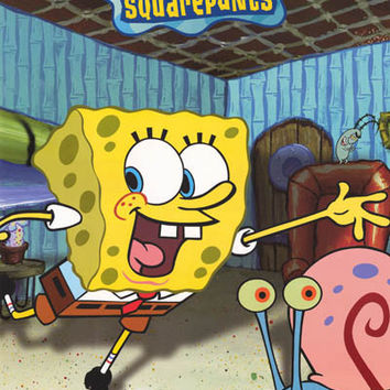 Spongebob Squarepants Fantastic Day Poster 22x34