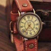 Retro Fashion Girl Watch