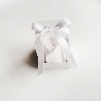 Scented stone rose , Wedding favor , Wedding decor , Party favor , Birthday gift , Valentine's Day , Ornament