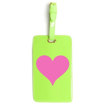 LoloBag - Luggage Tag / Pink Heart