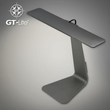 GT-Lite LED Desk Lamp DC 5V Chargeable Eyes Protection Touch ON OFF Switch 3W 200lm USD Power Folding Table Lamp Light GTTL03