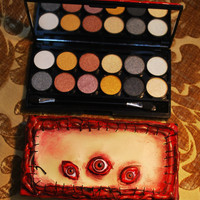 Spooky Pretty Zombie Skin Eyeshadow Makeup Set