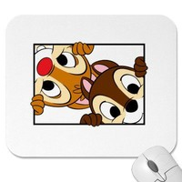 Disney Chip and Dale Mouse Pad from Zazzle.com