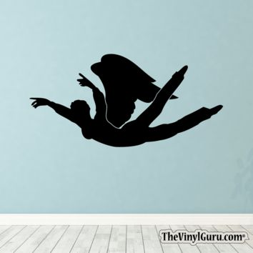 Sexy Angel Pin-Up Girl Wall Decal VI