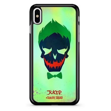 Joker Poster Suicide Squad iPhone X Case