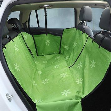 Luxury Pet Car Seat Cover Rear Waterproof Back Seat Protector Blanket Mat Easy Cleaning For Puppies Dog Small Large Animal Goods