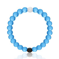 Blue Lokai style bracelet mud from the dead sea + water from mount Everest