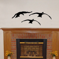 Wall Decal Flying Geese 3 Vinyl Wall Decal 22229