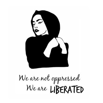 Hijab Freedom T-Shirt/Top Hijabi (Preorder for a low price!)