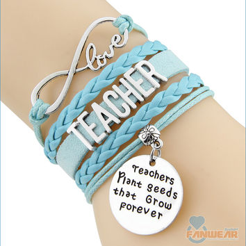 TEACHER Infinity Love Bracelet