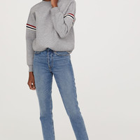 H&M Scuba-look Sweatshirt $29.99