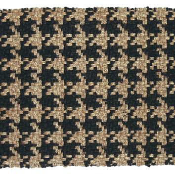 black and tan area rug roselawnlutheran. Black Bedroom Furniture Sets. Home Design Ideas