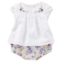 Baby Girl OshKosh B'gosh Floral Top & Bloomers Set