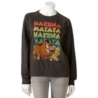 Mighty Fine Disney Lion King Sweatshirt - Juniors