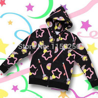 Anime Sailor moon Crystal Cosplay Harajuku Magic Wand Costume Kawaii Top Women Hoody Jacket/Coat New Free Shipping-in Costumes from Apparel & Accessories on Aliexpress.com | Alibaba Group