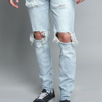 Distressed Denim Jeans DL1206 - V1D