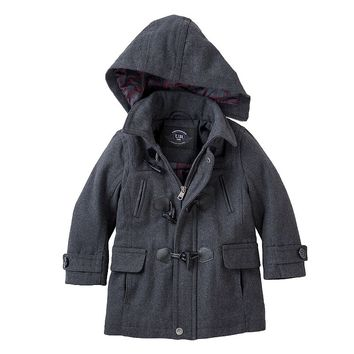 Urban Republic Toggle Wool Coat - Boys 4-7